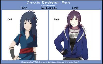 .:*Character Development Meme - Nariko Uchiha*:. by dreamchaser21