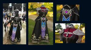 Dark Zelda dress - gown - costume- cosplay by InKibus