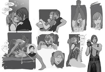 a bunch of sketches i thought i lost by shiniez