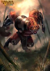 Guerrero Tigre - Warlords of Terra by HARU10