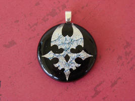 TWEWY Fused Glass Player Pin by FusedElegance