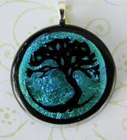 Tree of Life Ver. 2 Glass by FusedElegance