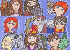 Harry's Loyal Companions by CassieJ787