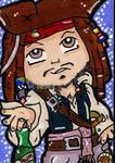 Captain Jack Sparrow Aye by CassieJ787
