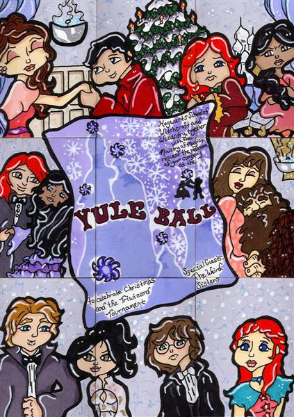 Harry Potter Yule Ball by CassieJ787