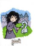 Snape's Sad Memory by CassieJ787