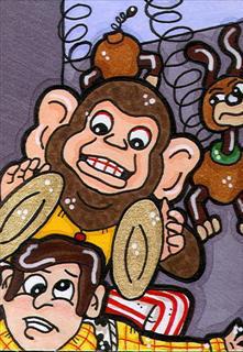 Toy Story 3 Evil Monkey by CassieJ787