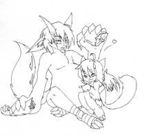 -Mpreg- Daemon Couple by Hitodrago
