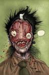 Zombie Portrait by Fatboy73