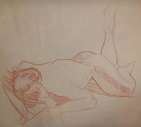 Life Drawing 9-29 by soggygrits