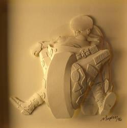 Kaneda by paperfetish