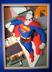 Superman by paperfetish