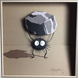 Susuwatari by paperfetish