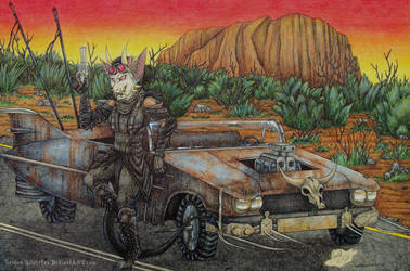 Commission: Sadisticjackal by Raiden-Silverfox