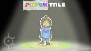 Undertale - Paper Frisk (Papertale) by MasterKtheUndying