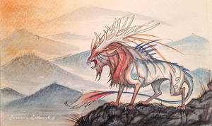 In the land of endless mountains by Saraais