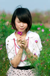 wish upon a flower by xiaochi