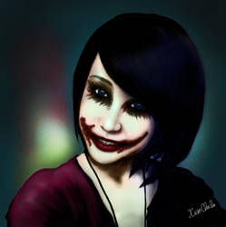 painted my smile by xiaochi