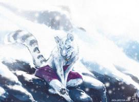 Snowblind by kattything