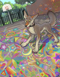 Chalk Dreams by kattything