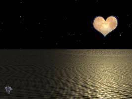 Kingdom Hearts Moon by chasef