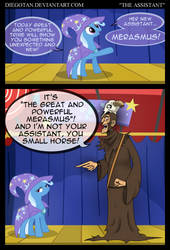 Trixie and Merasmus in ''The Assistant'' by DiegoTan
