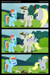 Rainbow Dash and Derpy in ''The Button'' by DiegoTan