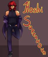 [OC] Hoshi Supernova - Human version info. by LethalAuroraMage
