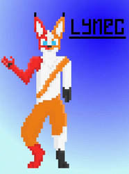 First Pixelart EVER by Lynec