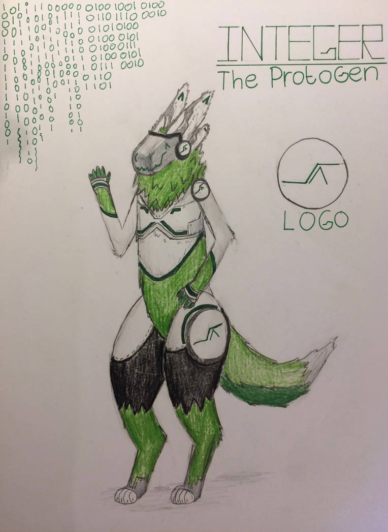 New character: Integer (Protogen) by Lynec