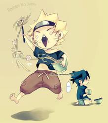 Naru-chan with Ramen by Claparo-Sans