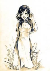 Ao Dai by Claparo-Sans