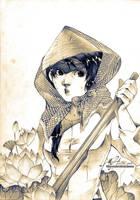 Ferrywoman by Claparo-Sans