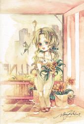 Maddie's Sunflowers by Claparo-Sans
