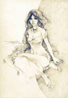 Smiling Jasmine by Claparo-Sans