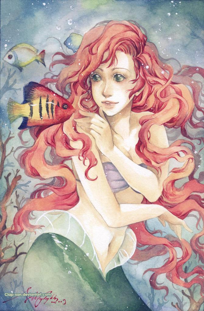 Princess Ariel by Claparo-Sans