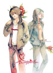 Be my Valentine by Claparo-Sans