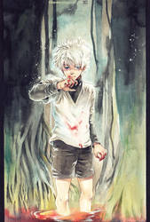 Killua by Claparo-Sans