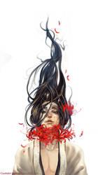 Higanbana Desire by Claparo-Sans