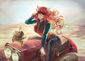 Rose Metalheart by Claparo-Sans