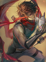 Kouji The Phantom by Claparo-Sans