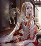 Amaterasu Okami by Claparo-Sans