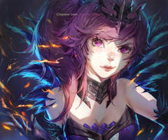 Dark Elementalist Lux by Claparo-Sans