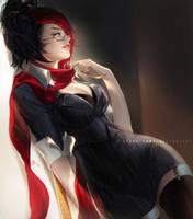 Headmistress Fiora by Claparo-Sans