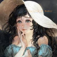[COMM] Victoria Hope Baker by Claparo-Sans