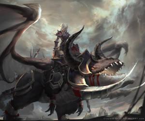 [WOW] - Warrior Class Mount by Claparo-Sans