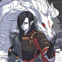 [Onmyoji] - Ichimoku Ren by Claparo-Sans