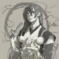 [Onmyoji] - Kisei by Claparo-Sans