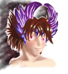 angel ? by X-MegaGirl