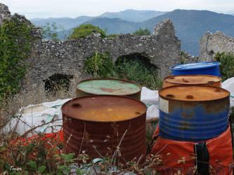 Ruins by Tircisia